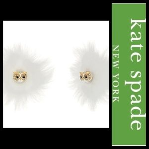 Kate Spade NY Star Bright Owl Reversible Earrings